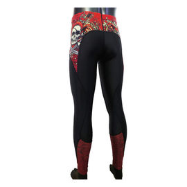 Sublimation Compression Sports Clothing Lycra Long Compression Pants